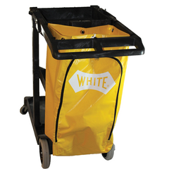 Janitor's Cart with 25 Gallon Vinyl Bag