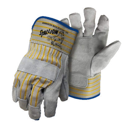 Stallion Leather Palm Glove