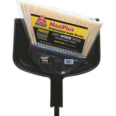 MaxiPlus® Angle Broom with Dust Pan