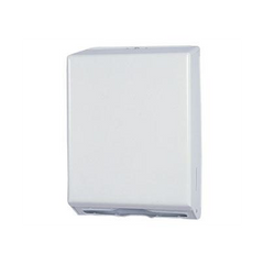 Folded Towel Dispenser Off White