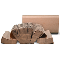 Preserve® Brown Multifold Towel