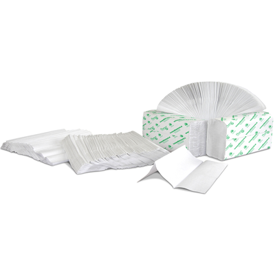 Preserve® White Multifold Towel
