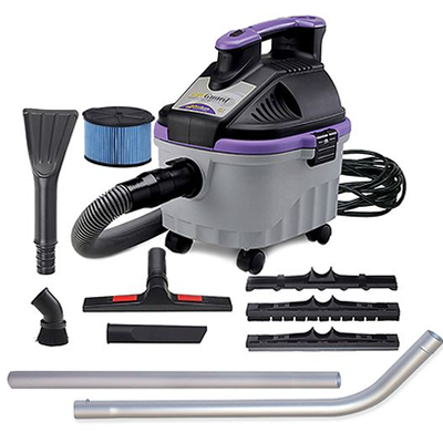 ProTeam ProGuard 4 Portable Wet/Dry Vacuum with Tool Kit