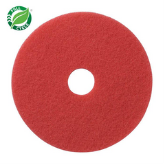 Red Buffing Floor Pad