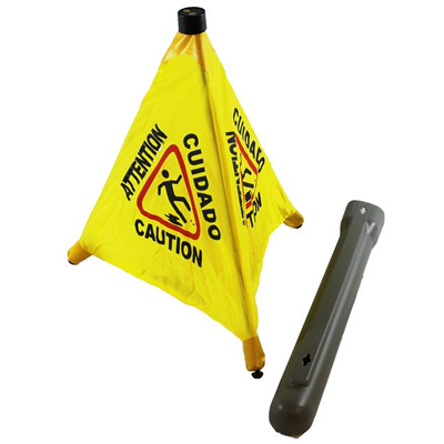 Wet Floor Pop Out Safety Cone