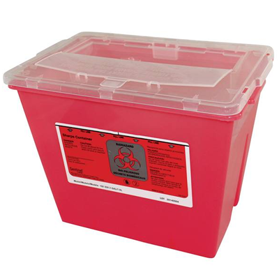 Sharps Container 2 Gallon