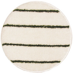 Green/White SOIL-SORB™ Carpet Bonnet Scrubber