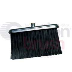 Stiff Poly Broom with Handle