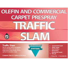Traffic Slam Olefin and Commercial Carpet Prespray