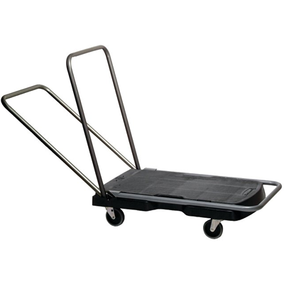 Triple Trolley with Straight Handle, Utility-Duty