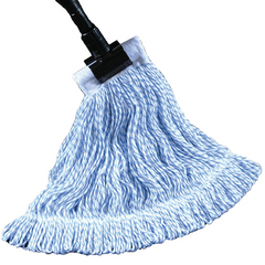 Waxer Mop Blue/White