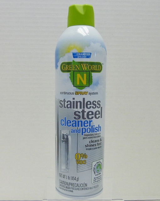 Green World N™ Stainless Steel Cleaner and Polish