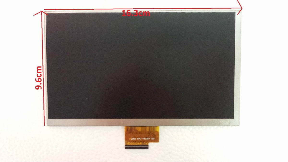 Display Lcd para Tablet 7 Pulgadas Flex FPC-Y83367 V02 de 40 Pines