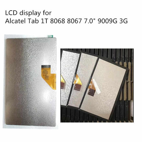 "Display para Tablet 7 pulgadas Alcatel Tab 1T 8068 8067 7.0"" 9009G 3G Alcatel Pixi Kid 1T 8068 FLEX FPC070NE3401_D"