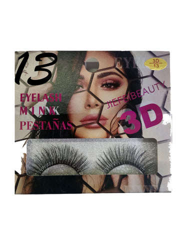 PESTAÑAS JIEFEI BEAUTY MINK 3D