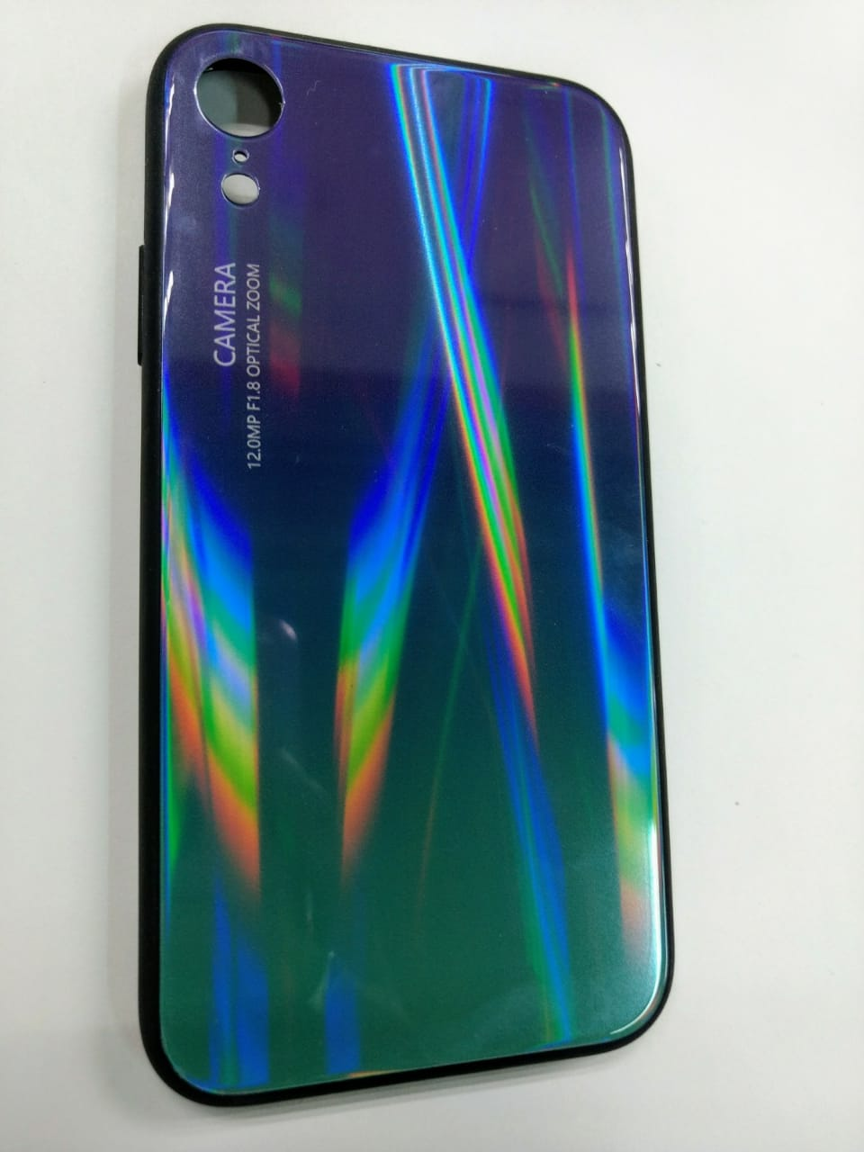 Funda cristal tornasol Iphone XR