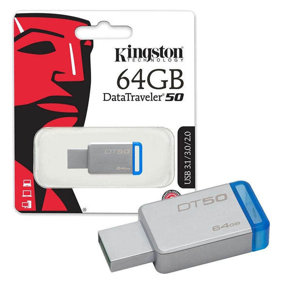 Memoria USB 64Gb Kingston DataTraveler 50 USB 3.1