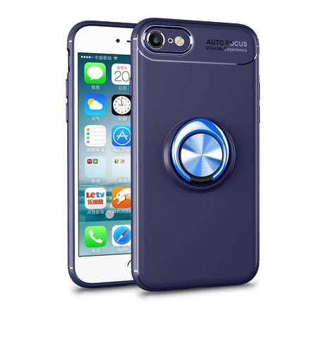 Funda Tpu con anillo giratorio para Iphone X / XS