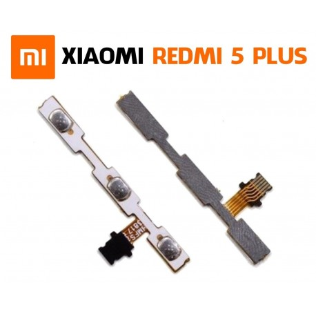 Flex de encendido ON OFF y Volumen para Xiaomi Redmi 5 Plus