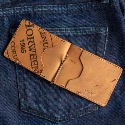 Capone Leather Money Clip