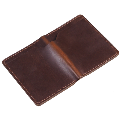 Ashland Leather Fat Herbie showing Brown Chromexcel leather exterior with pull up