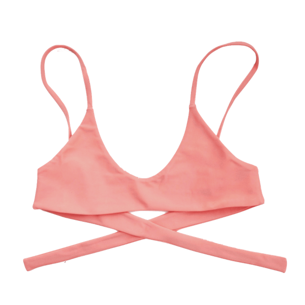 Cocoa Top in Flamingo - Tonic Bikini