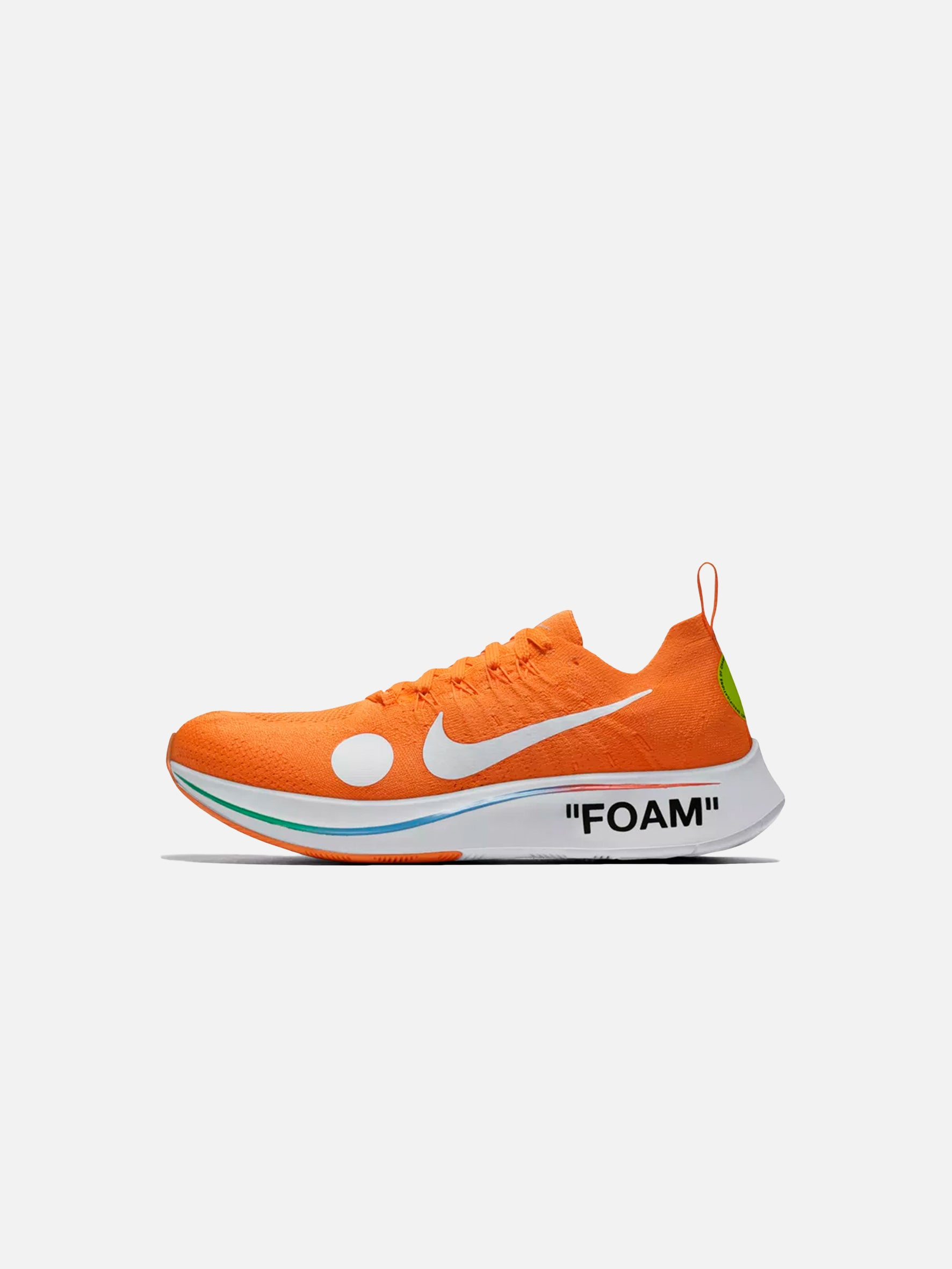 NikeLab x Off-White™ c/o Virgil Abloh Zoomfly Mercurial: Orange 'World Cup'