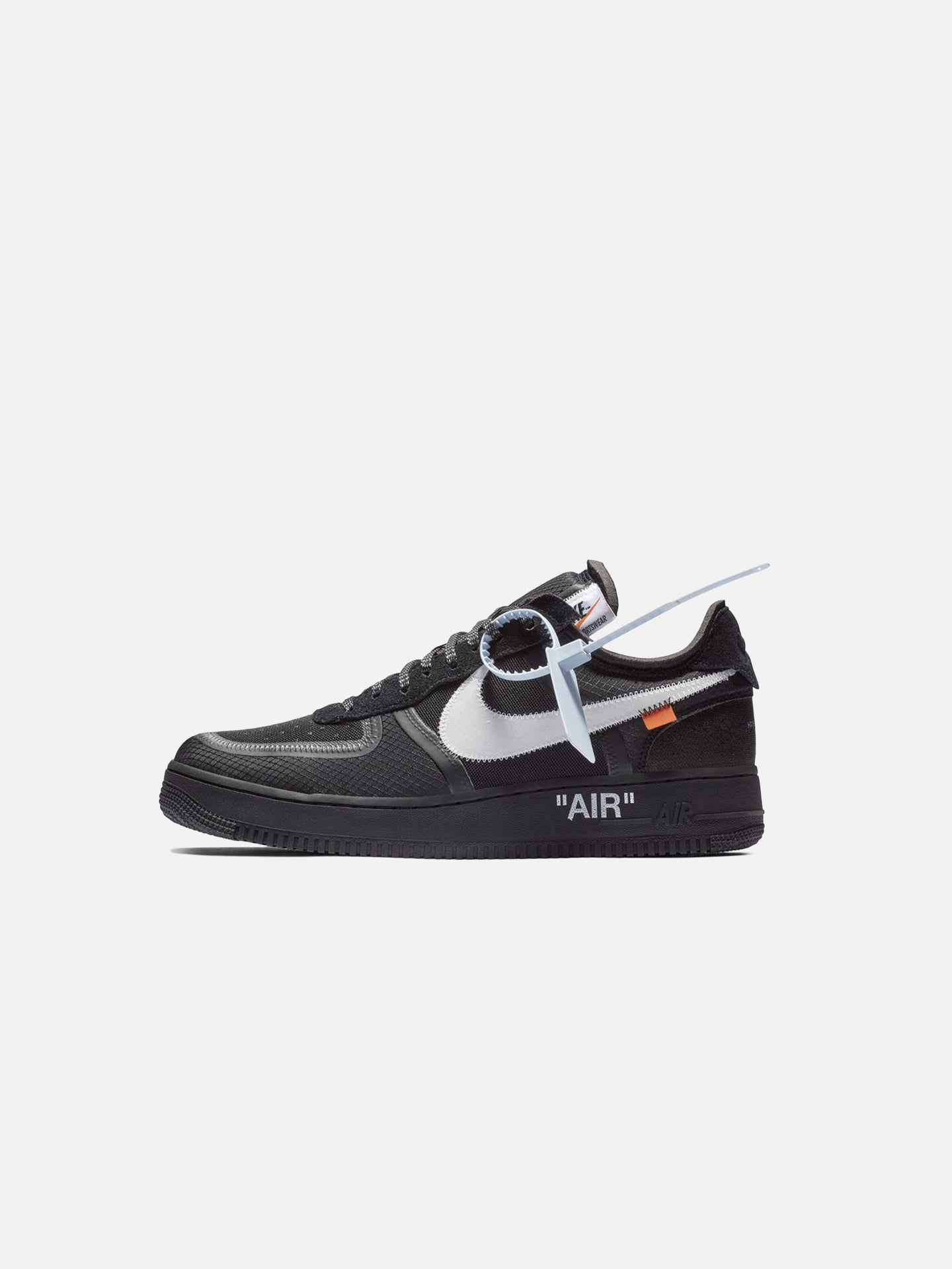 x OFF-WHITE™ AIR FORCE 1: BLACK