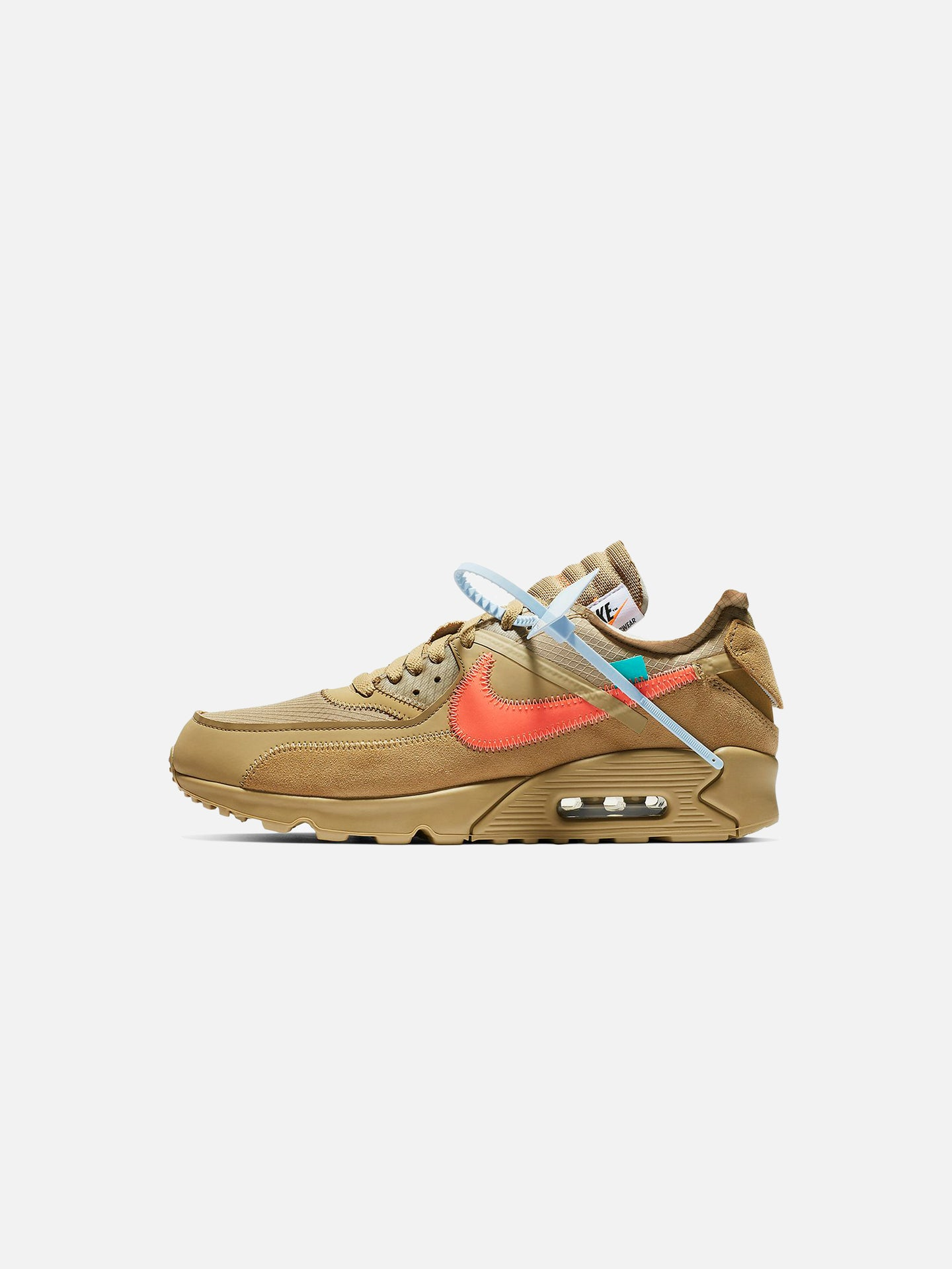brand new a6a61 76bc2 x OFF-WHITE™ AIR MAX 90  DESERT ORE. NIKE