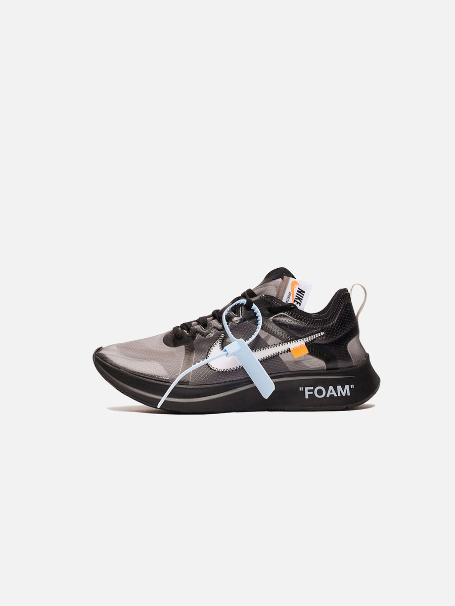 detailed look b0838 e9a50 NikeLab x Off-White™ Zoom Fly  Black (W)   HIESSIK®
