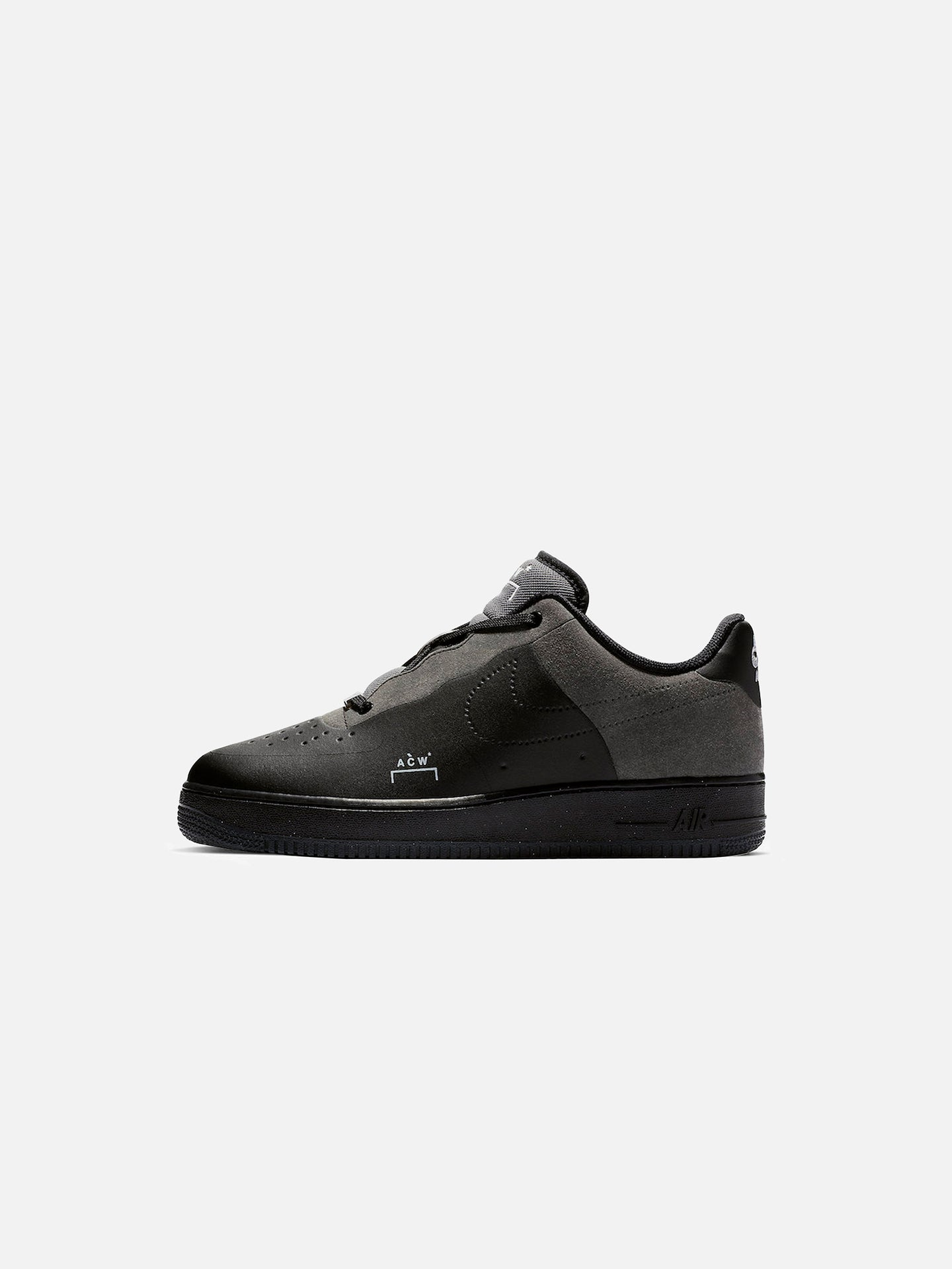 x A-COLD-WALL* AIR FORCE 1 LOW: BLACK