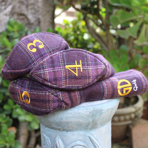 'FLO'ERS O THE FOREST' HEAD COVERS