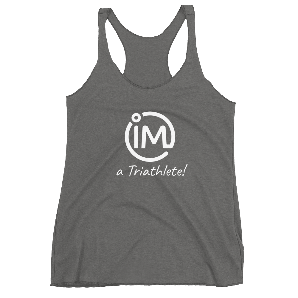 "The IvaMichele Original ""IM a Triathlete"" Racerback Tank - IvaMichele"