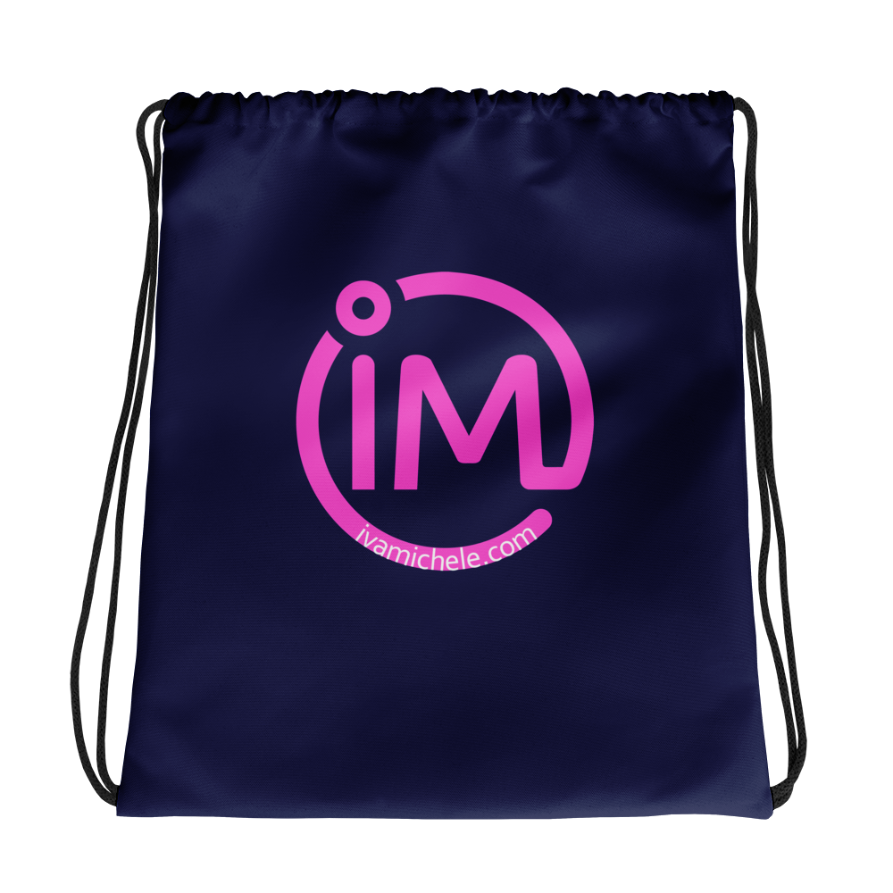 The IM Logo Drawstring Bag - IvaMichele
