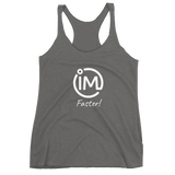 "The IvaMichele ""IM Faster"" Racerback Tank - IvaMichele"