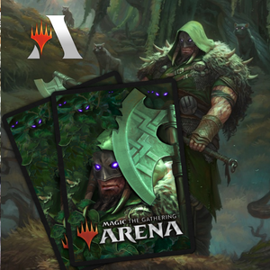 Garruk Huntsman Sleeve & Cards Deluxe Collection Bundle Code