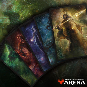 Theros Stargazing Secret Lair Sleeve Bundle code (All 5)