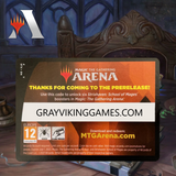 Strixhaven PreRelease Pack Code (6 Boosters)
