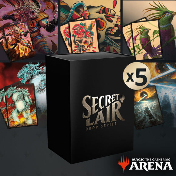 Summer Superdrop Secret Lair Sleeves Code Bundle (All 5)