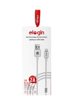 CABO USB ELOGIN EMBORRACHADO I LIGHTNING - CE04