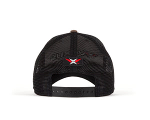 VEXUS® Brown / Black Mesh Hat