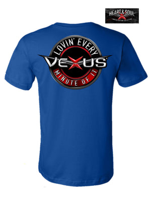 VEXUS® Royal Lovin' Every Minute Performance Tee