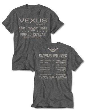 VEXUS® Dark Heather Vintage Tour Tee
