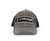 VEXUS® Grey/Black Mesh Stripe Patch Logo Hat