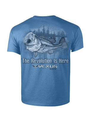 VEXUS® Carolina Blue Largemouth Tee