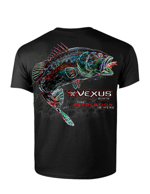 VEXUS® Black Neon Bass Tee