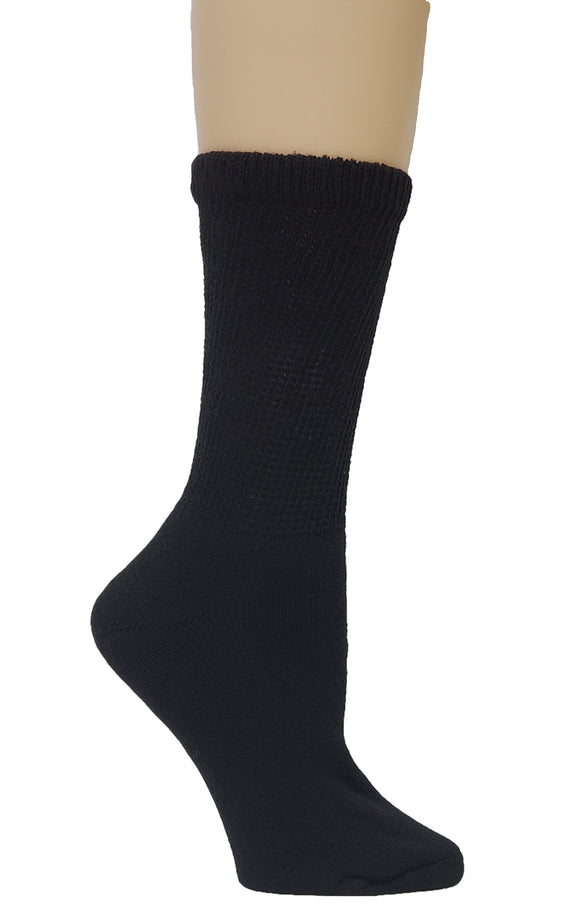 Dr. Allay Women's Cushioned Diabetic Crew Socks