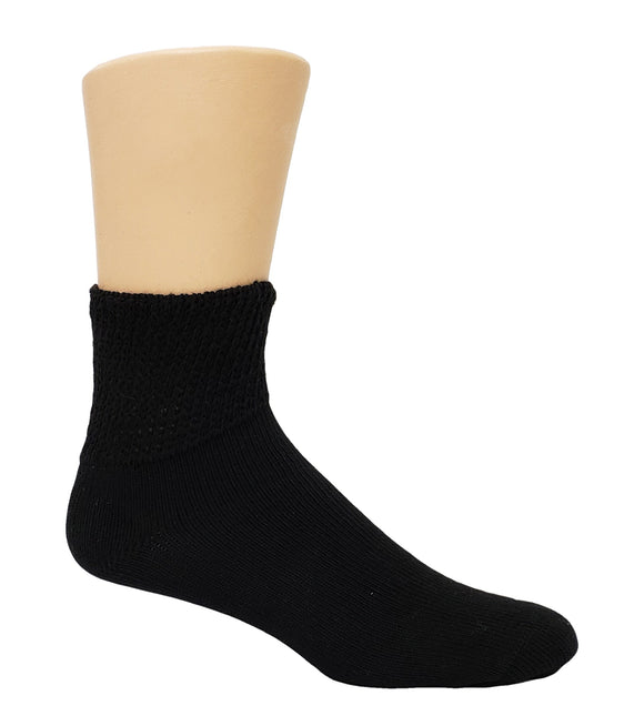 Dr. Allay Men's Diabetic Quarter Sock