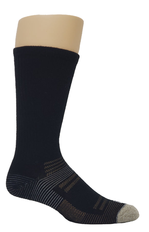 Men's Ribbed Wool Blend Socks