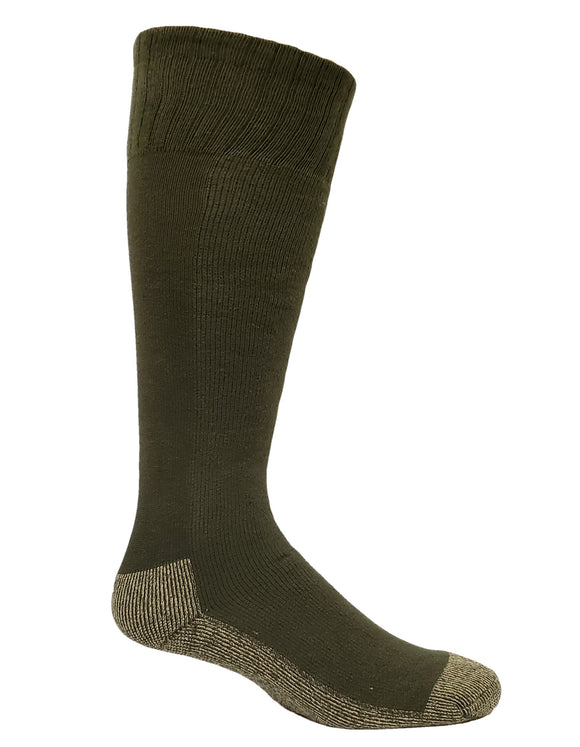Men's X-Large Copper Sole Boot Socks